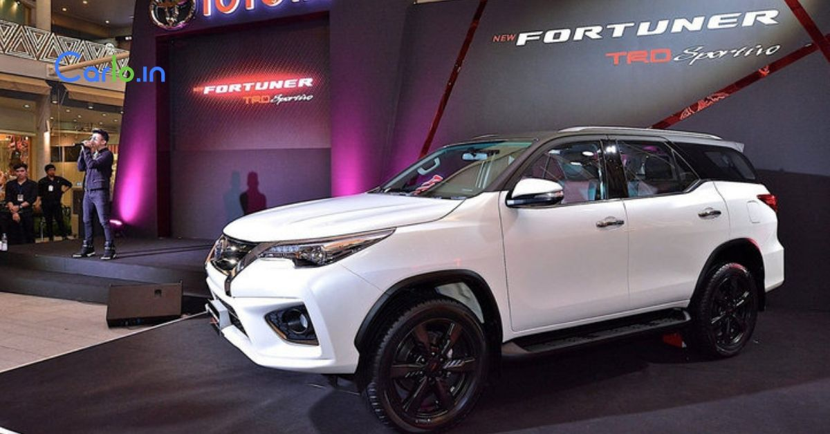 Toyota Fortuner Trd Sportivo India Launch On September 12