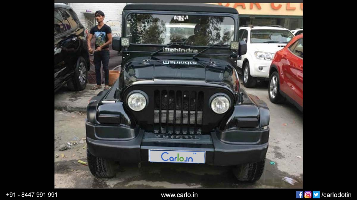 Used Mahindra Thar Crde 4x4 Ac Car For Sale In New Delhi 2015 Registration Year Carlo In