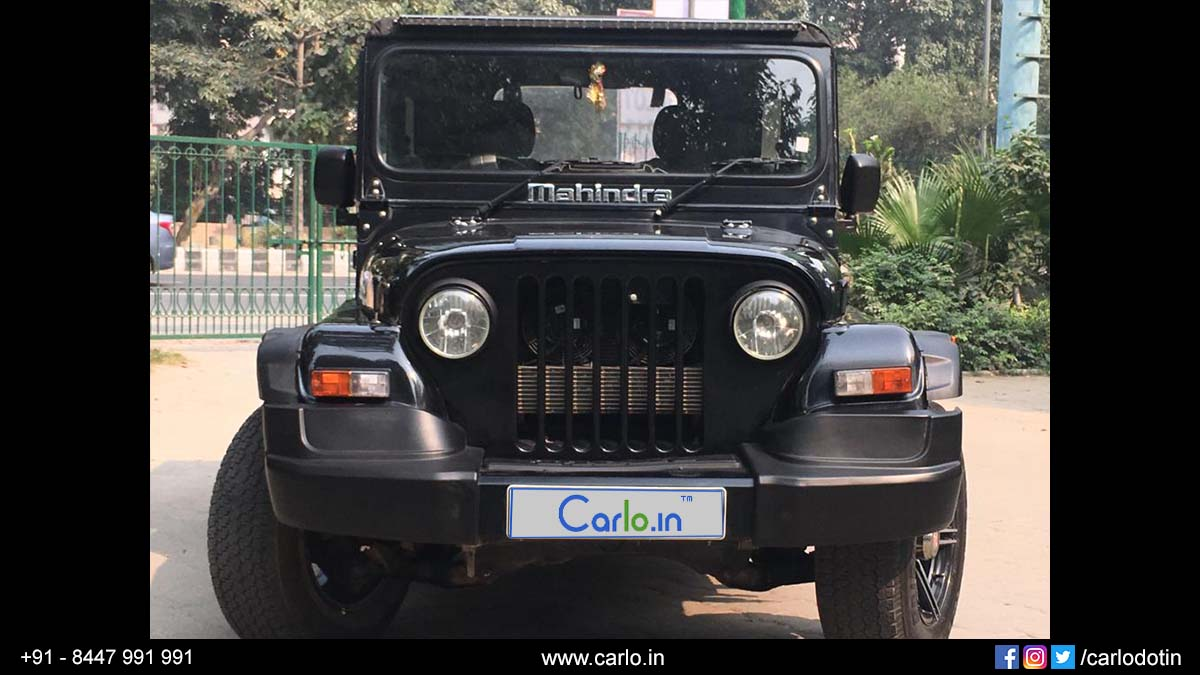 Used Mahindra Thar Car For Sale In New Delhi 2017 Registration Year