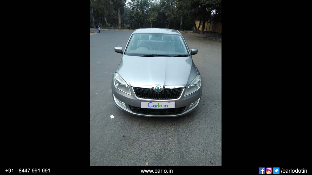 Used Skoda Rapid 1 6 Elegance Car For Sale In New Delhi 2012