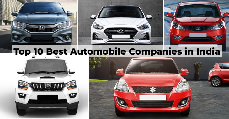 Top 10 Best Automobile Companies In India Carlo In Blog