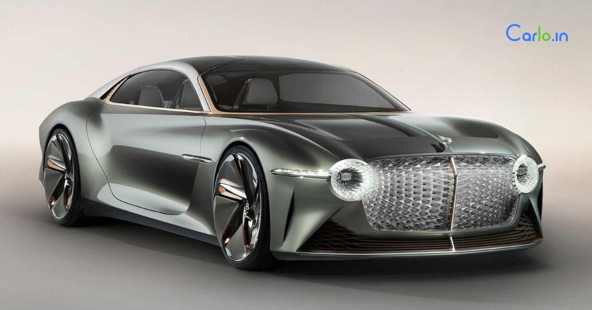 Bentley EXP 100 GT concept revealed