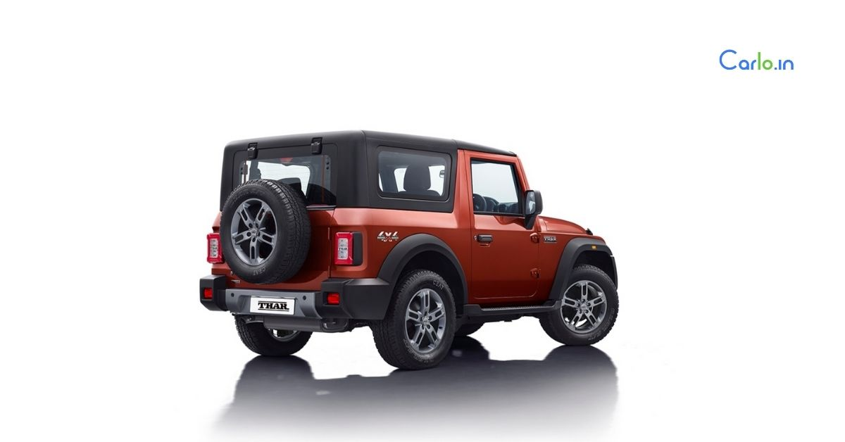 New Mahindra Thar available in 6 colours